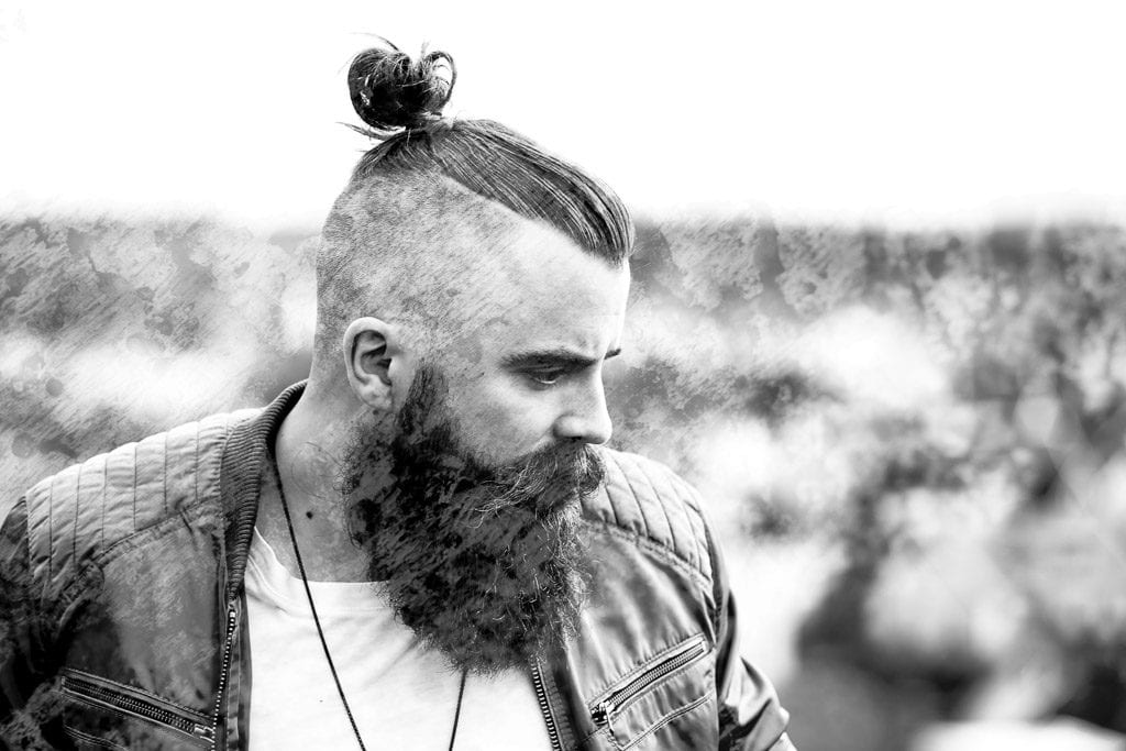 bw-bearded-male-portrait