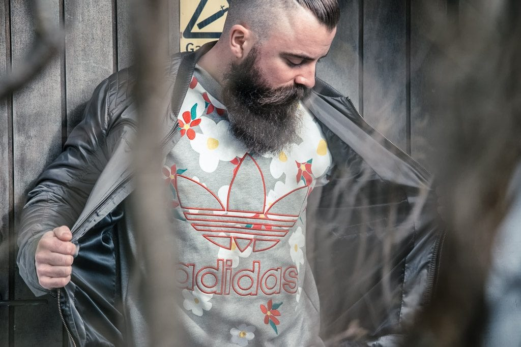 bearded-man-in-adidas-clothing