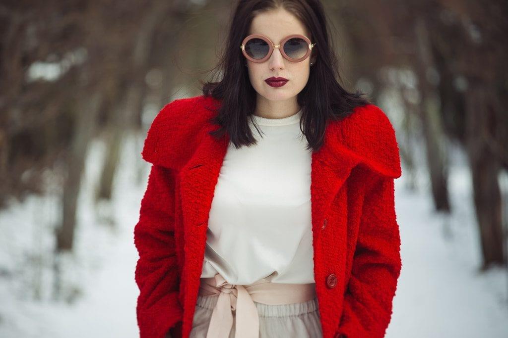 Erich fend red coat