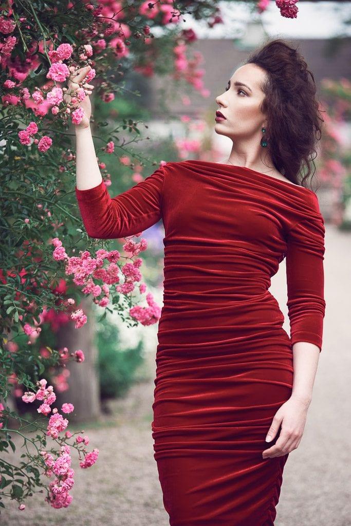 red-dress-portrait